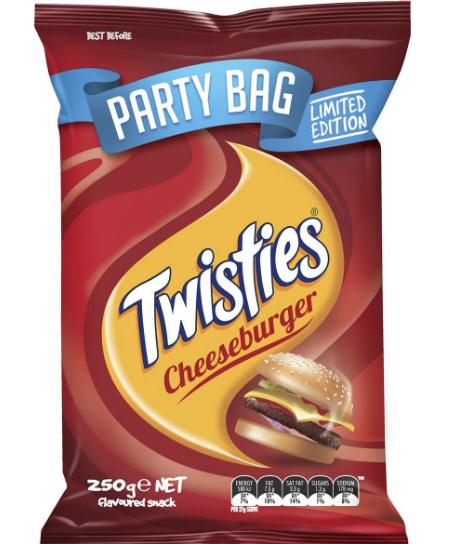 Twisties Cheeseburger