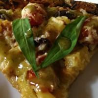 Cheesy Tomato Pita Bake