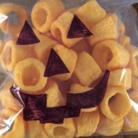 """Halloween """"pumpkin"""" face"""