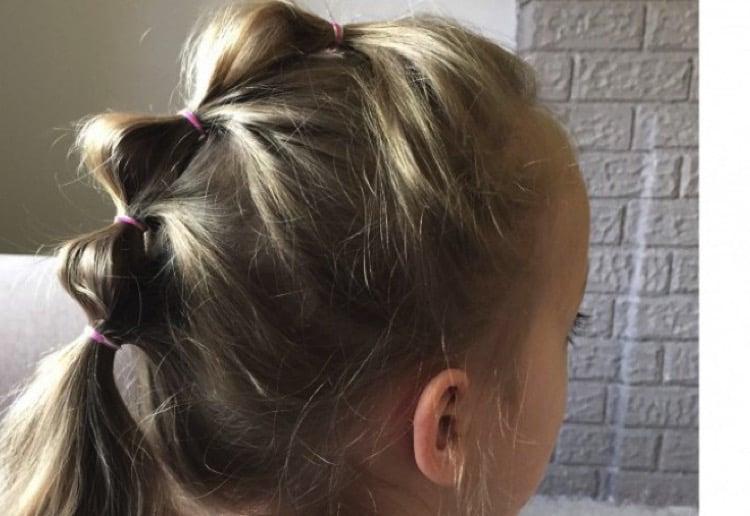 Mohawk ponytail