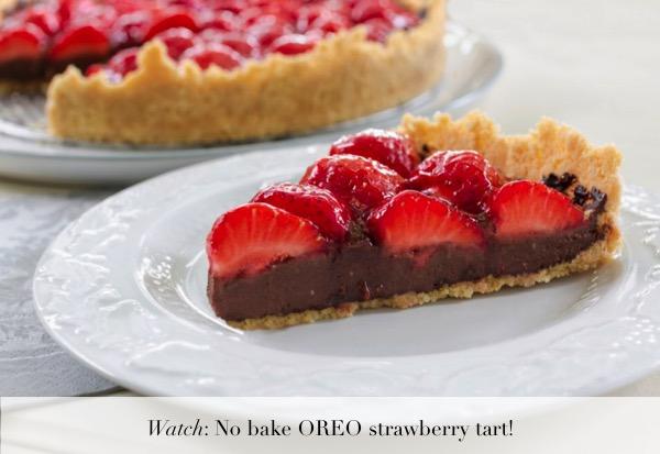 no-bake-oreo-strawberry-tart