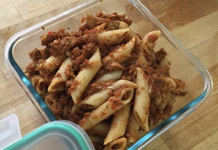 Leftovers pasta