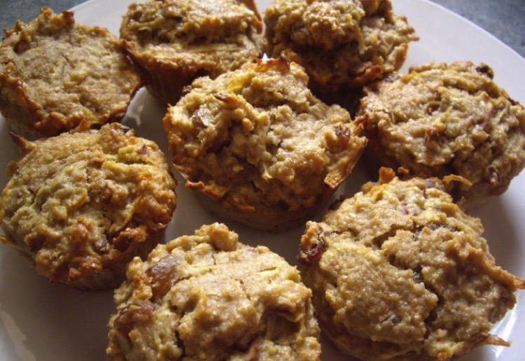 mom19782016 reviewed Apple and Oat Bran Muffins