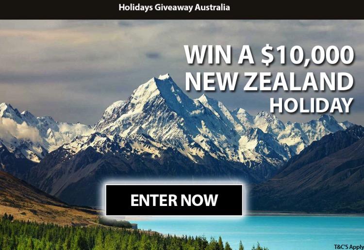 WIN a $10,000 New Zealand holiday