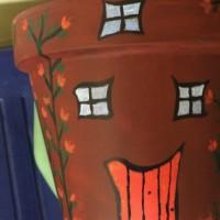 Fairy door pots