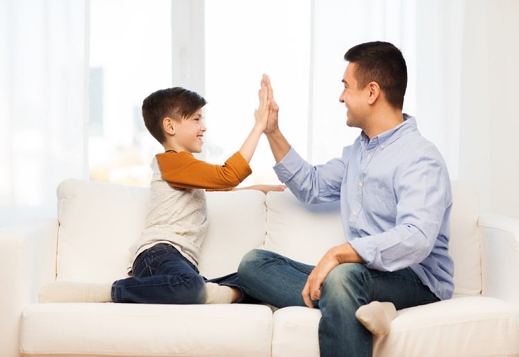 Saying 'well done' to your child, is actually a big NO! NO!
