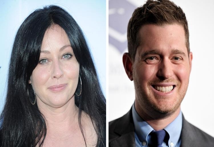 Shannen Doherty's message to Michael Bublé following son's cancer news
