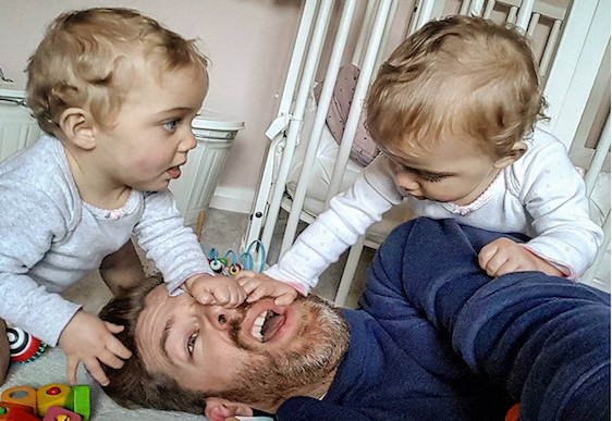One Dad posting real pictures of parenthood