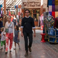 Getting around Dubai with Kids