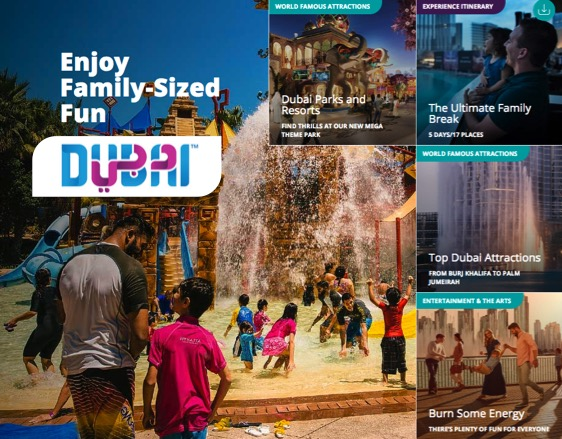 Discover the ultimate family holiday … in DUBAI.