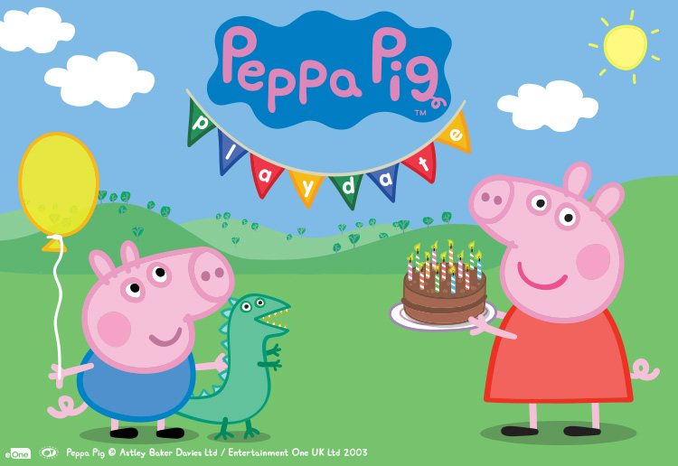 Win 1 Of 5 Family Passes To The Ultimate Peppa Pig Experience