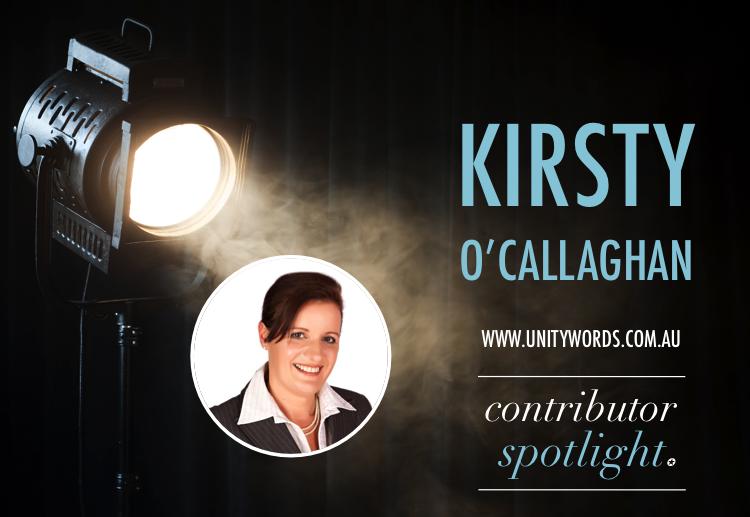 Contributor Spotlight: Kirsty O'Callaghan