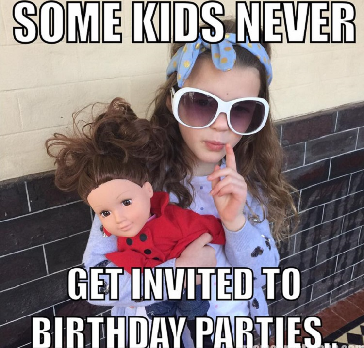 Dad hosts birthday party for kids who never get invitations