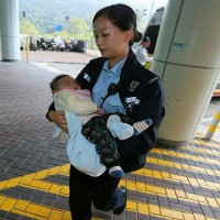 Baby with cerebral palsy found abandoned at park