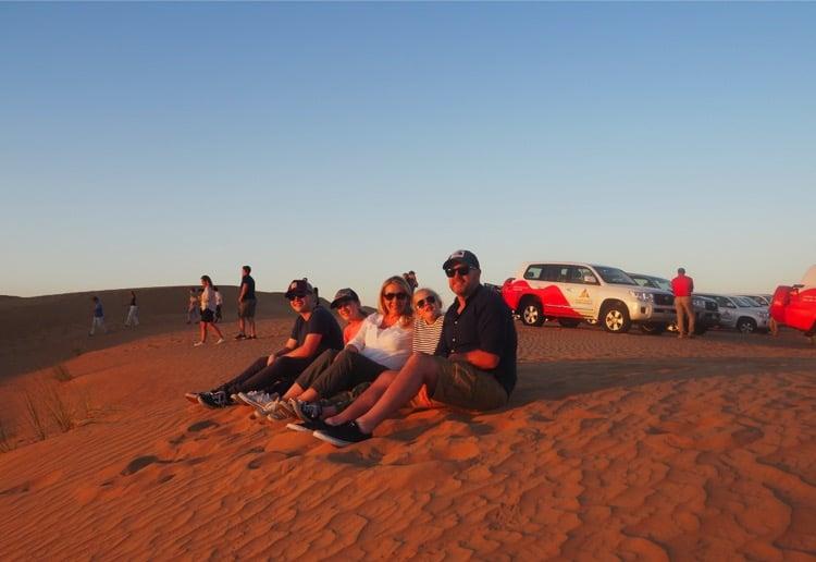 What really happens on a Desert Safari
