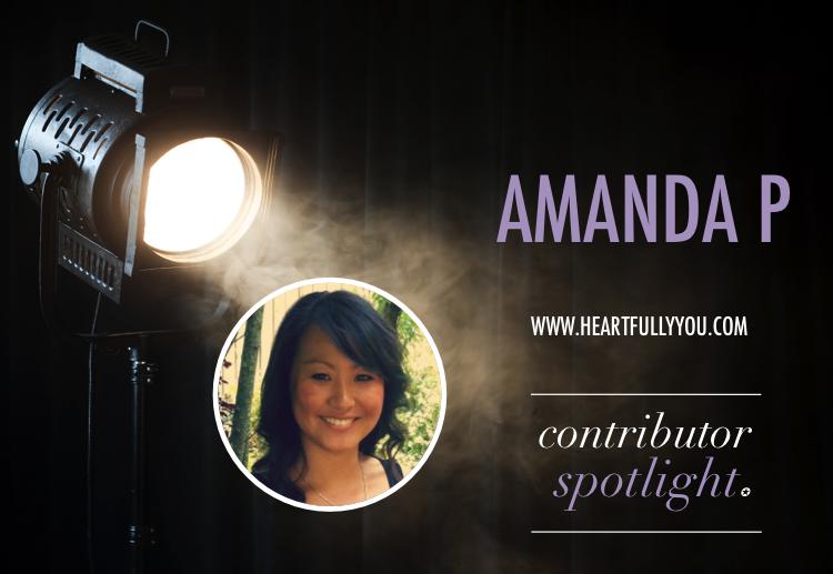Contributor Spotlight: Amanda P