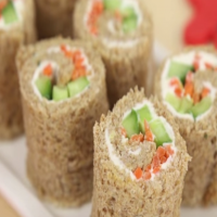 How to make sandwich sushi for the kids