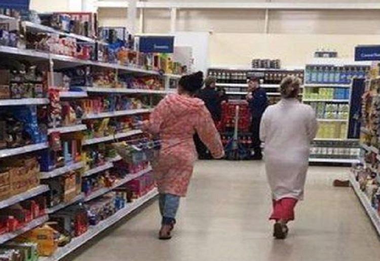TWO women shamed for shopping in their pyjamas hitback