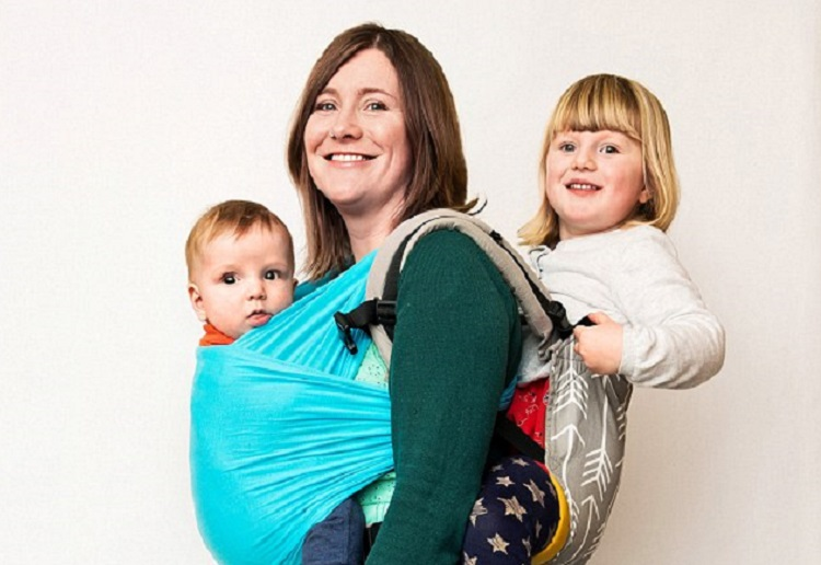 Mums who babywear their preschoolers to allow quality one-on-one time