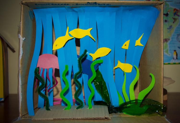 3D Mini Aquarium