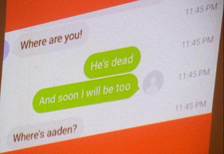 Mum receives horrifying text from her ex