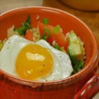 Quinoa and egg breakfast bowl