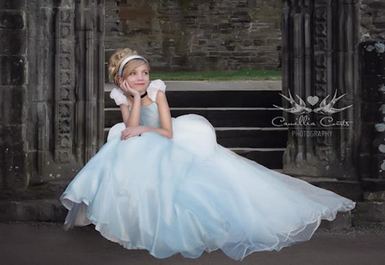 Every little girl's Princess dream come true