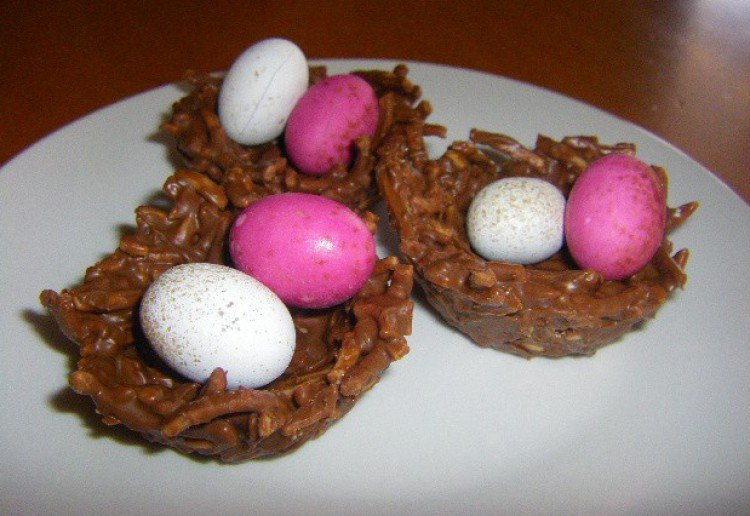 Chocolate Easter Baskets