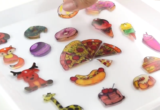 Diy For The Kids Make Shrinky Dink Charms Mouths Of Mums