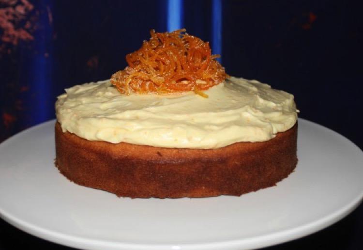Orange Cake Icing Recipes: Butter Cake With Orange Icing