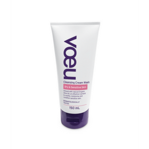Voeu Cleansing Cream Wash Dry and Sensitive Skin 150ml
