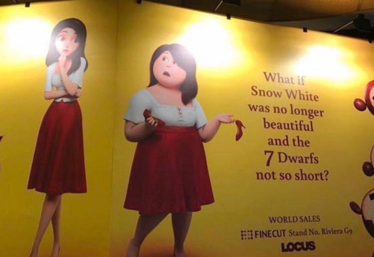 Parents outraged at fat shaming Snow White movie spin-off