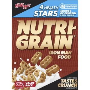 nutri grain 805g pack