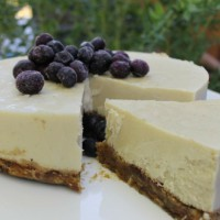 Yoghourt and Cashew Cheesecake (no bake)