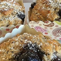Chia, Oat, Blueberry and Yoghourt Muffins