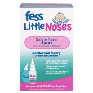 Bela reviewed FESS® Little Noses Saline Nasal Spray