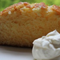 Lemon & coconut cake