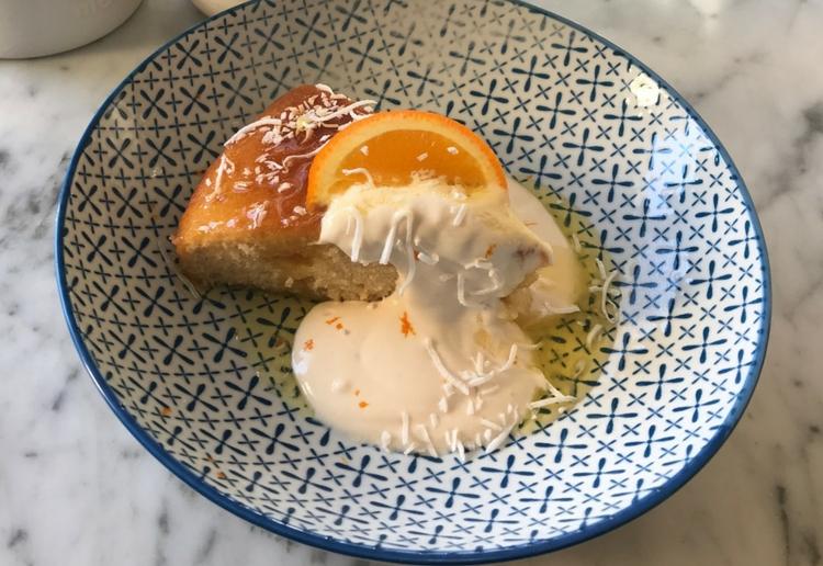 Orange & Yoghourt Cake