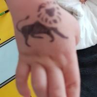 Stencil Tattoos