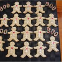 Halloween Skeleton Cookies