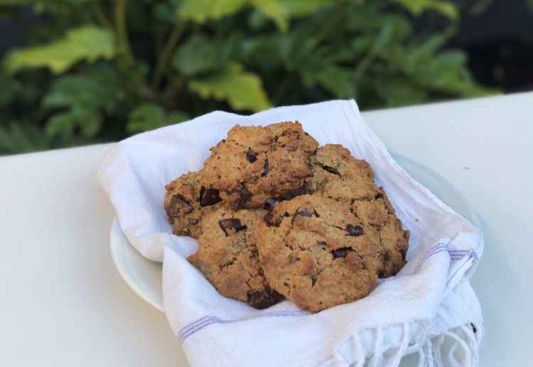 Barley+ and Oat Choc Chip Cookies