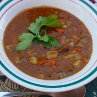 Pepper steak Soup