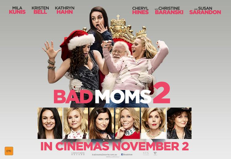 WIN 1 of 20 Bad Moms 2... Mila Kunis Kids