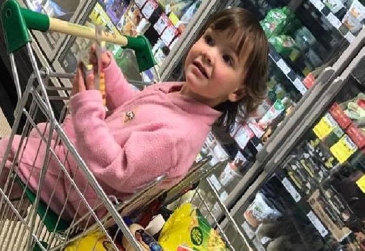 Mum hits back after being shamed over her grocery shop