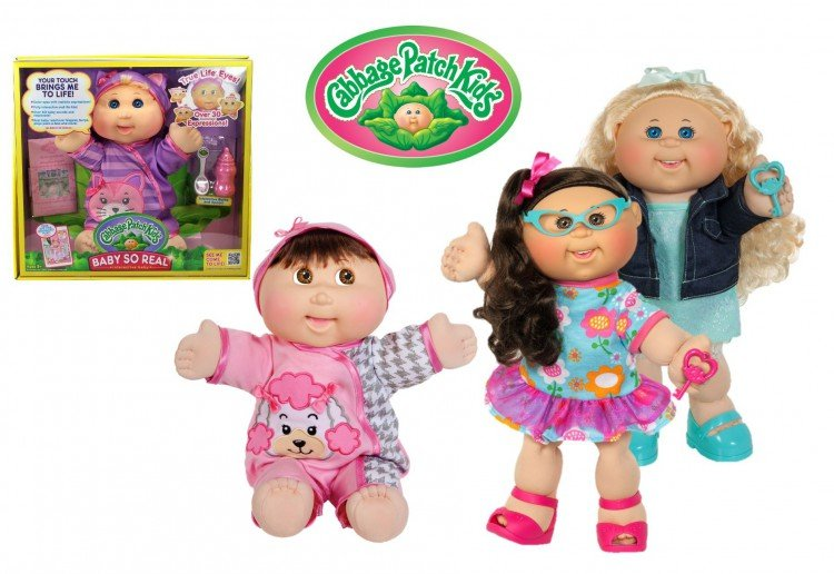 WIN 1 of 5 Cabbage Patch Kids prizes!