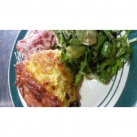 riccotta and vegetable frittata