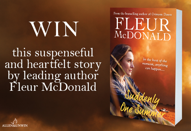 Dianne reviewed WIN 1 of 20 copies of the novel Suddenly One Summer by Fleur McDonald