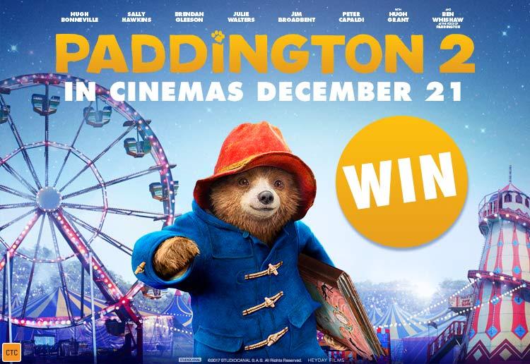 WIN 1 of 5 Family movie passes to Paddington 2
