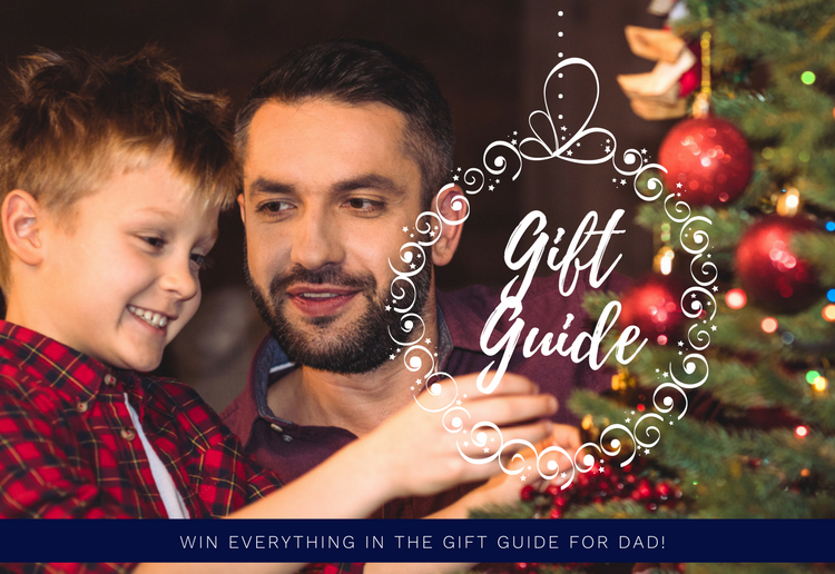 Win MoM's 2017 Dad's Christmas Gift Guide Hamper!