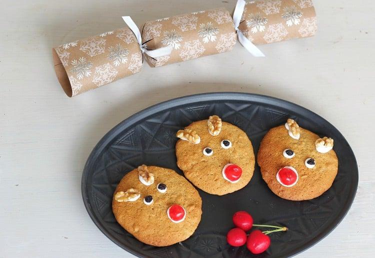 Carrot Cake Reindeer Cookies